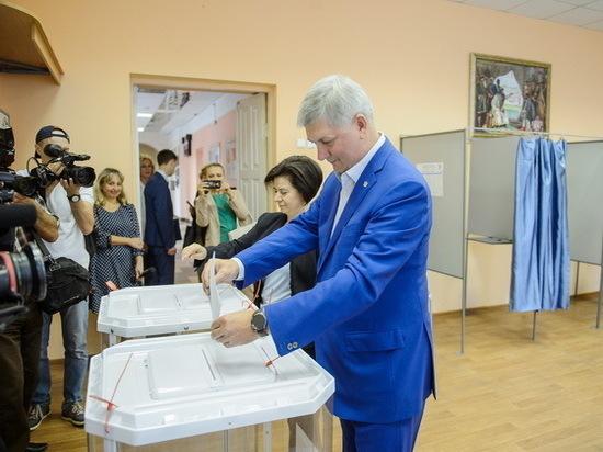 В минувшее воскресенье прошли выборы губернатора Воронежской области