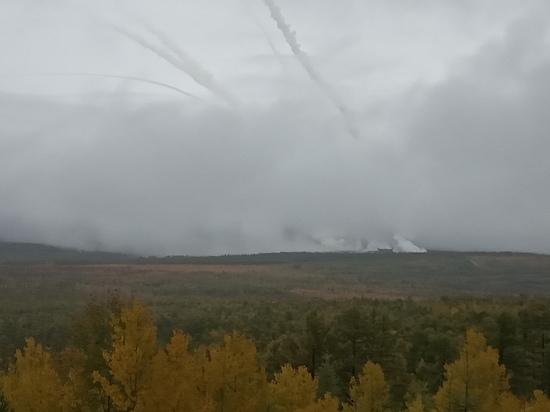 Забайкалье подверглось массированному воздушному удару: