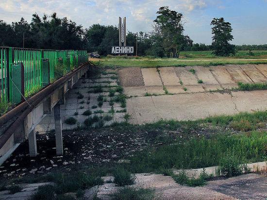 МИД Украины: Киев никогда не возобновит поставки воды в
