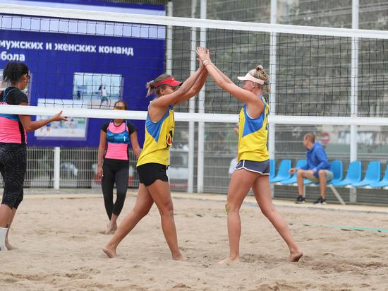 Чемпионат Казахстана по пляжному волейболу прошел в Алматы