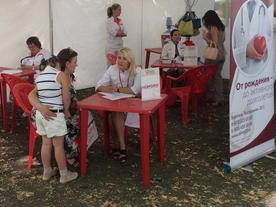Воронежцы смогли бесплатно проконсультироваться с врачами и пройти обследования
