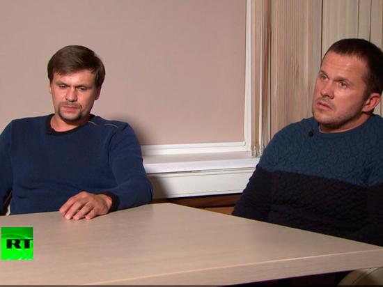 Петров и Боширов пришли на RT по приказу свыше