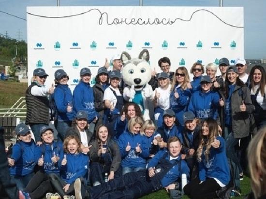 В Красноярске состоялся экослет марафона «Понеслось»