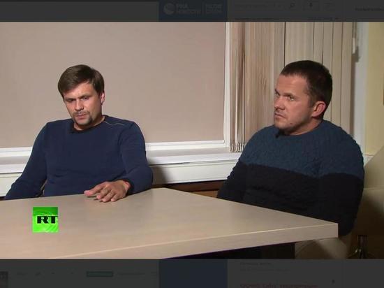 Боширов и Петров намекнули, почему всегда вместе