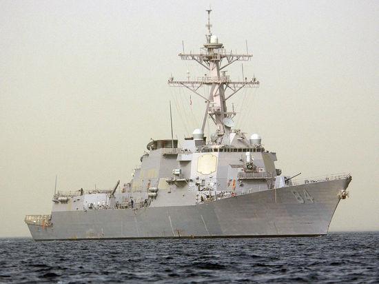 В Средиземное море вошел еще один эсминецСША, вооруженный «Томагавками»