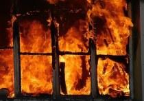 В Архангельской области при пожаре в собственном доме погиб человек