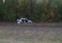 Водитель оренбургского  такси «Белое » попал в аварию после ночной смены