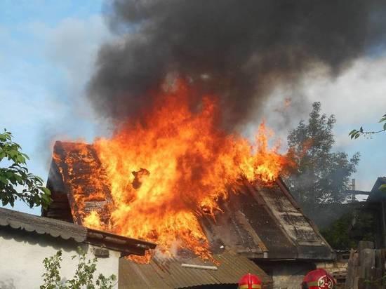 Архангелогородец не смог разбудить свою подругу при пожаре в бане в Цигломени