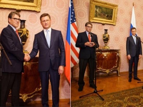Глава Минэнерго США доволен переговорами с Новаком в Москве