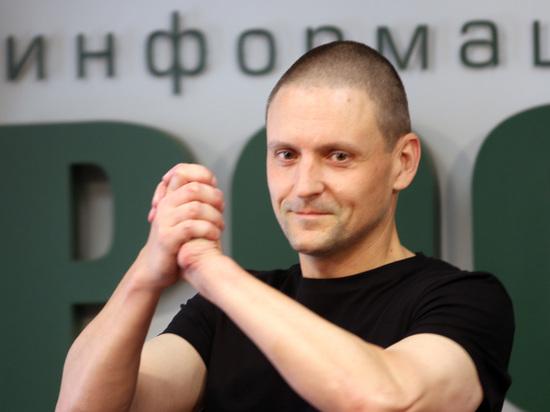 Удальцова освободили из-под ареста
