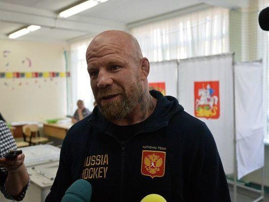 Джефф Монсон вступил в должность депутата Красногорска