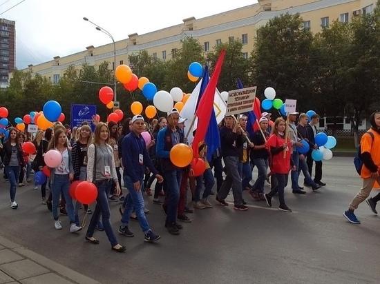Новокузнецкие студенты пройдут по улицам города с парадом