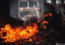 Пенсионер погиб при пожаре в Белове