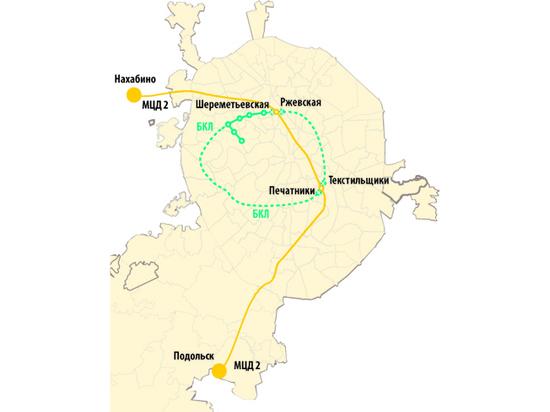 На Большой кольцевой линии метро появятся четыре новые пересадки