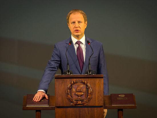 Виктор Томенко вступил в должность губернатора Алтайского края