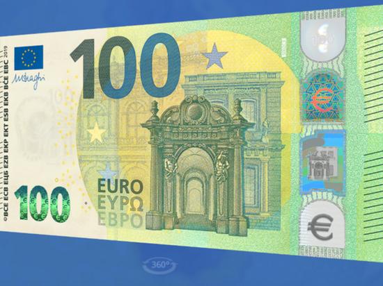 ЕЦБ показал новые банкноты в 100 и 200 евро
