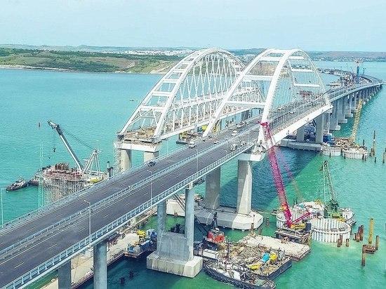 Названа сумма налогов, уплаченных строителями Крымского моста