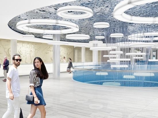 В Лужниках появится бассейн с крышей-трансформером