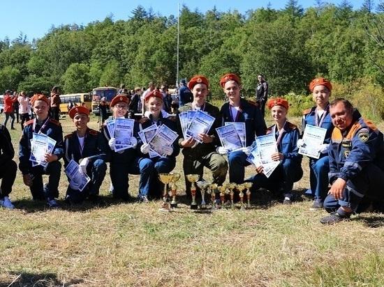 На Сахалине завершились соревнования «Школа безопасности – 2018»