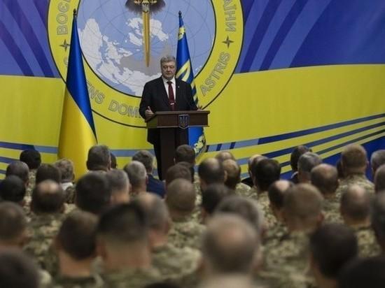Порошенко рассказал, сколько будет получать солдат в 2019 году