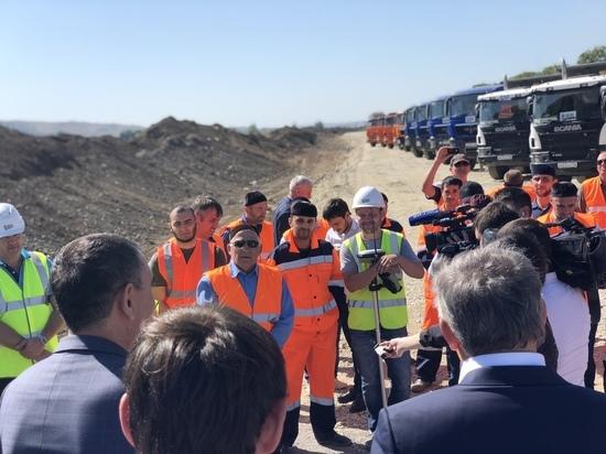 Участок трассы Р-217 «Кавказ» расширят до четырех полос к 2020 году