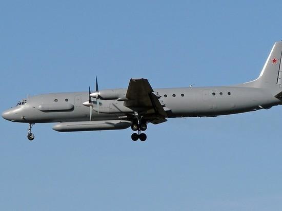 Российский Ил-20 с военными сбила ПВО Сирии