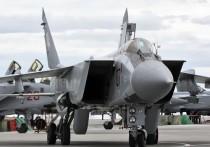 МиГ-31 упал в Нижегородской области
