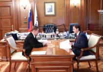 Глава Орловской области провёл встречу с Алексеем Миллером