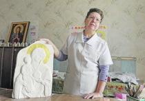 Преподавательница воскресной школы из Подгоренского района каждый день пилит куски мела