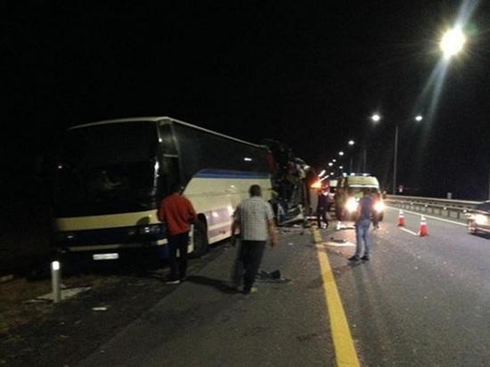 Жертвами страшной аварии стали пять человек