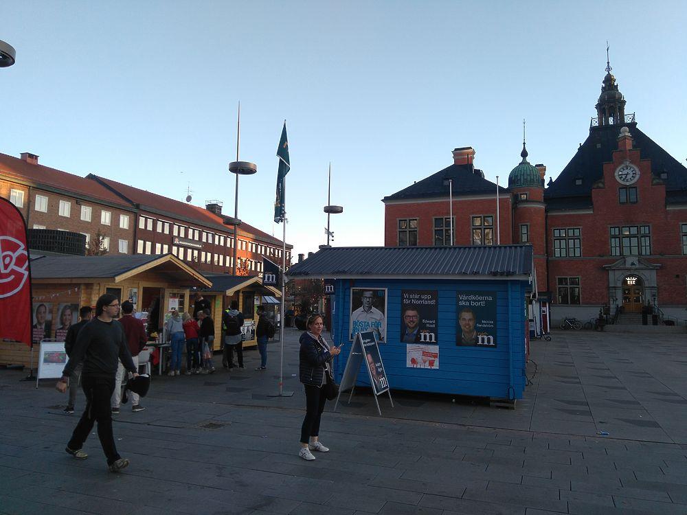 День выборов в Швеции