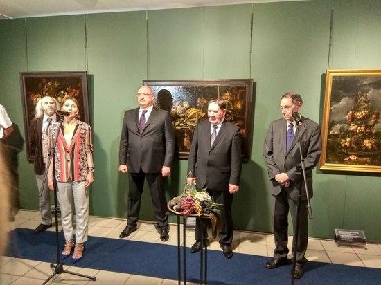 «Металлоинвест» привез в Курск  картины «Эрмитажа»