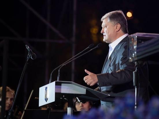 Порошенко пообещал выгнать ВМФ России из Крыма