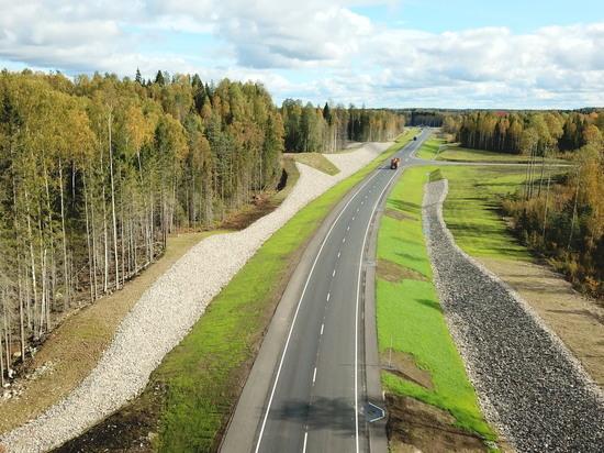 Раньше срока: в Карелии обновили трассу федеральную трассу Приладожья
