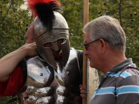 Перекpёсток эпох: в Крыму встретились античные воины и солдаты нашего времени