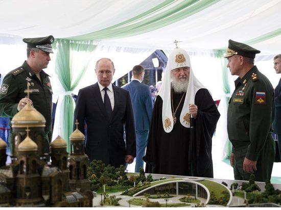 На строительство главного военного храма собрали уже более 1 млрд рублей