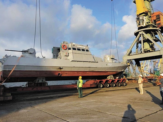 Надводные лодки для степей Украины