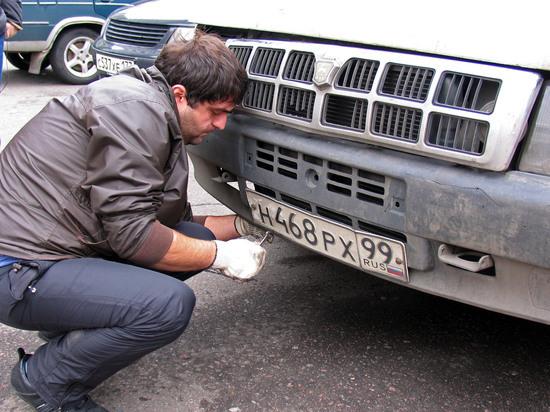 Россиян заставят получать новые автомобильные номера