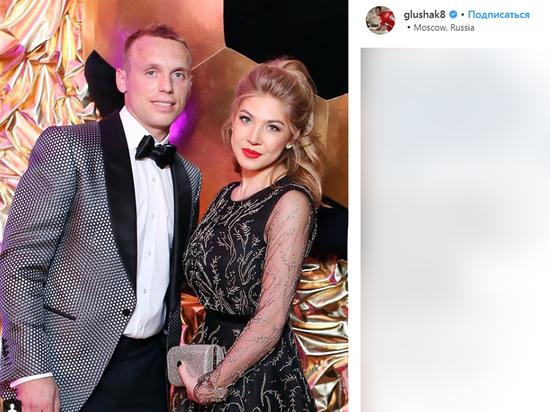 Жена Глушакова рассказала об избиении мужем: