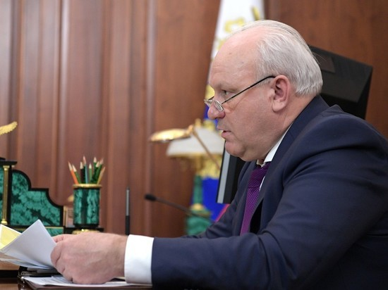 Врио главы Хакасии Зимин снял свою кандидатуру с выборов