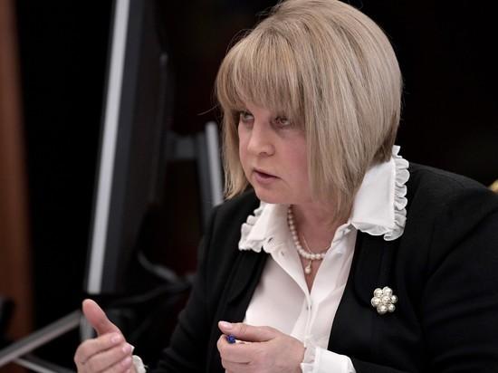Памфилова призвала Ищенко и Тарасенко отказаться от выборов в Приморье