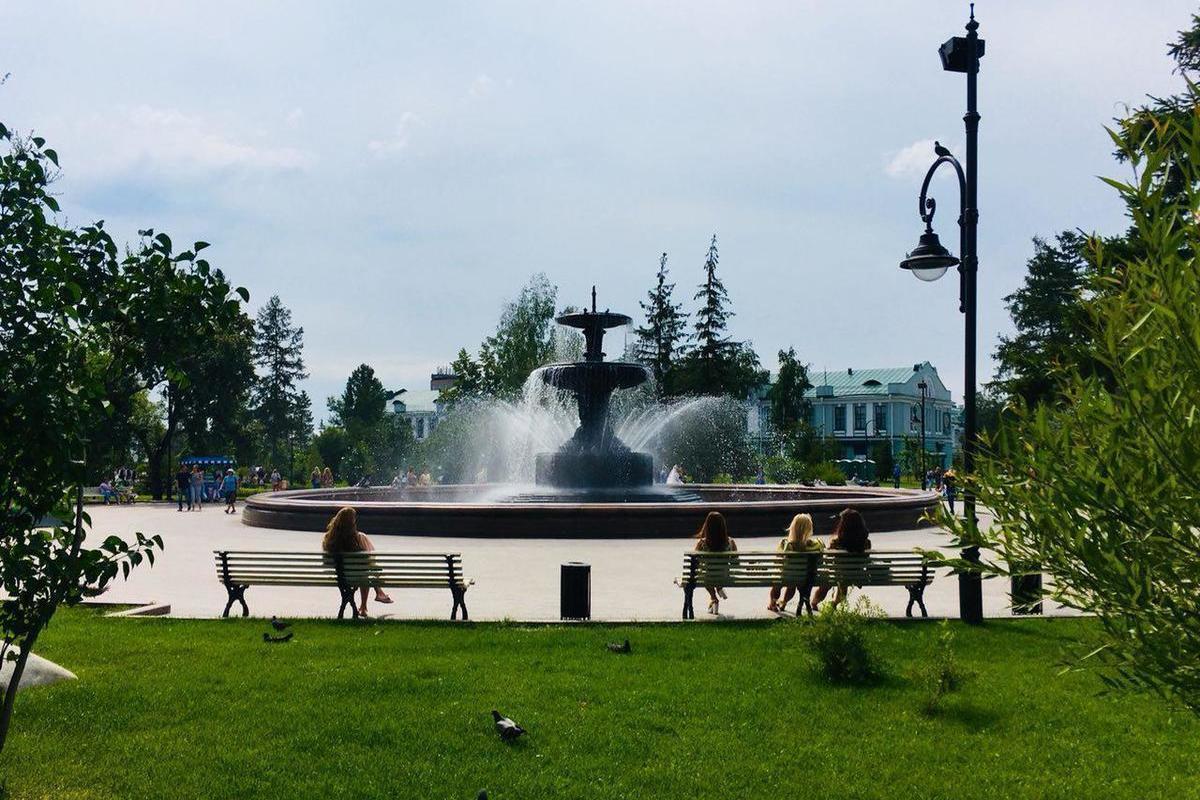 Картинки парки омска