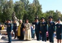 В Волгограде огнеборцы и кадеты МЧС присягнули на верность
