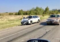 Из-за ДТП на Калужском шоссе под Тулой собирается автомобильная пробка