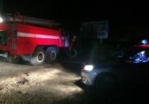 Ваз и Шкода столкнулись на трассе под Калугой