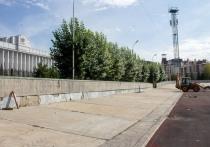 На стадионе «Динамо» в Омске меняют газон на российский