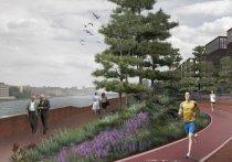 На набережной Шагала откроют круглосуточный парк с четырьмя зонами