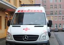 На востоке Москвы девочка упала с дерева, играя в прятки