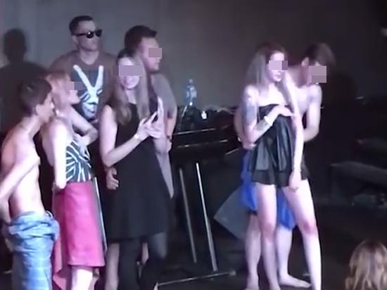 Посвящение в студенты вечеринка секс