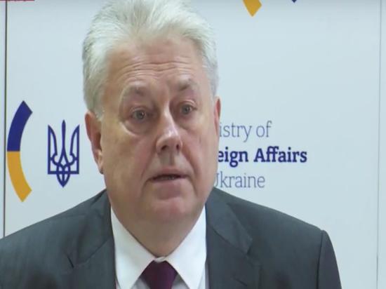 Киев выступил за перенос переговоров по Донбассу из Минска